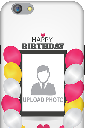 Silicon - OPPO F1s Birthday Greetings Mobile Cover