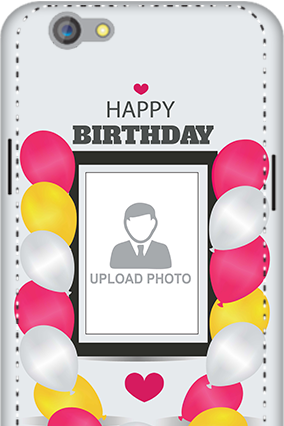 3D - Oppo F1S Birthday Greetings Mobile Cover