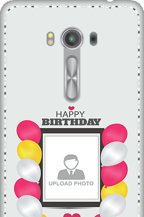 3D - Asus Zenfone 2 Laser ZE550KL Birthday Greetings Mobile Cover