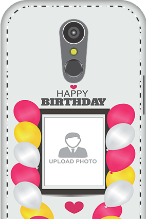 3D - LG K10 (2017) Birthday Greetings Mobile Cover