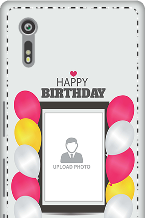 Custom 3D - Sony Xperia XZ Birthday Greetings Mobile Cover