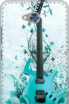 3D - Gionee S6 Pro Blue Guitar Mobile Cover