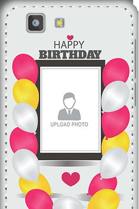 3D - Vivo X3S Birthday Greetings Mobile Cover