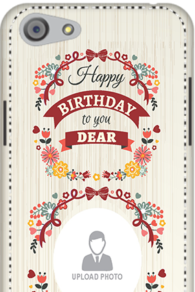 3D - Oppo A33  Happy Birthday Dear Mobile Cover