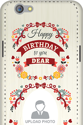 3D - Oppo F1S Happy Birthday Dear Mobile Cover