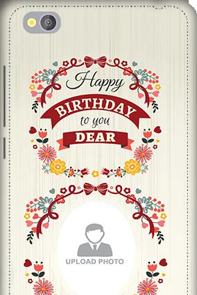 3D - Xiaomi Redmi 4A Happy Birthday Dear Mobile Cover