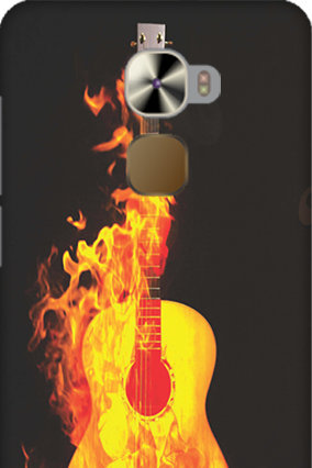 LeTV Le Pro 3 Fired Guitar Mobile Cover