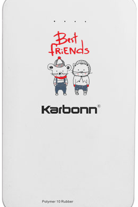 Best Friend Forever 10000mAh Karbonn Power Bank