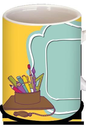 Sunlit Teacher's Day Mug
