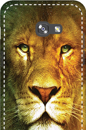 Custom 3D-Samsung Galaxy A5 2017 Lion Face Mobile Cover