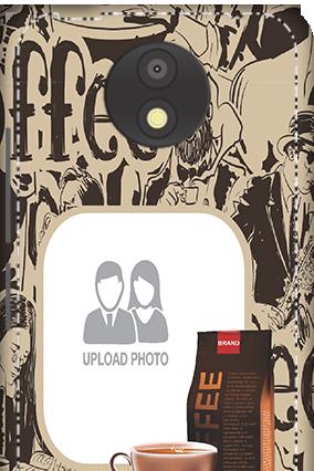 3D - Motorola Moto C Plus Coffee Beans Mobile Cover
