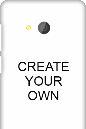 3D - Create Your Own Microsoft Lumia 540 Mobile Cover