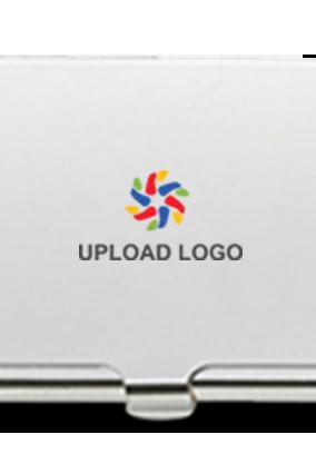 Upload Logo Promotional Metal Card Holder