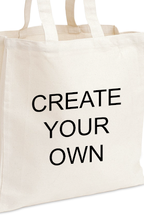 Create Your Own White Tote Bag