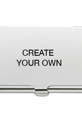 Visiting card holder business card holders with name online create your own metal card holder reheart Images