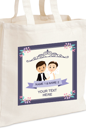 Mrs. & Mr. Tote Bag