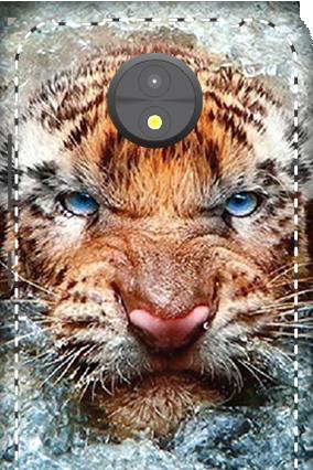 3D -  Motorola Moto C Beast Mobile Cover