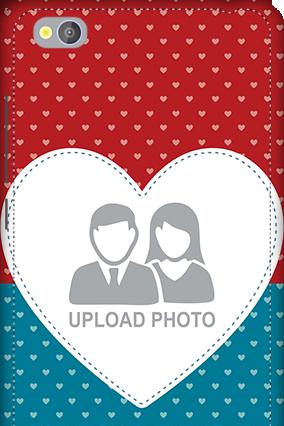 3D - Xiaomi Redmi 4A Colorful Heart Valentine's Day Mobile Cover