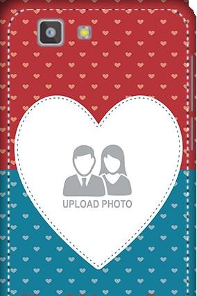 3D - Vivo X3S Colorful Heart Valentine's Day Mobile Cover