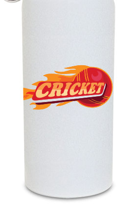 Cricket 600ml White Sipper