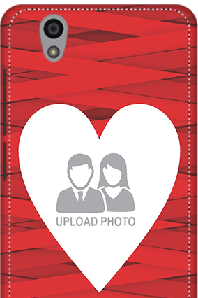 3D - Gionee F103 Big Heart Valentine's Day Mobile Cover