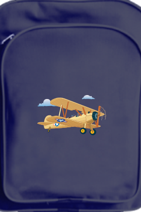 Amazing Flying Buzz School Bag