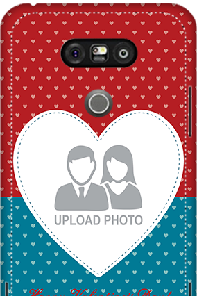 3D - LG G5 Colorful Heart Valentine's Day Mobile Cover
