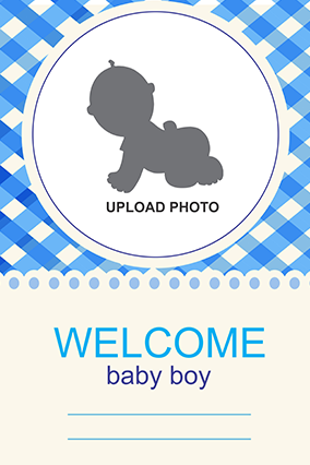 Baby Boy Canvas Print