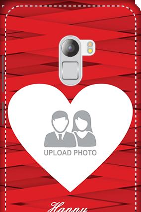 3D - Lenovo K4 Note Big Heart Valentine's Day Mobile Cover