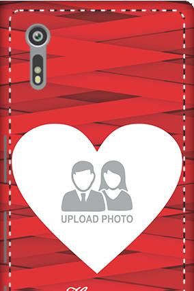 3D - Sony Xperia XZ Big Heart Valentine's Day Mobile Cover