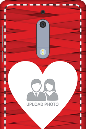 3D - Nokia 5 Big Heart Valentine's Day Mobile Cover