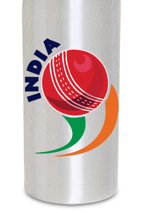 India 600ml Silver Sipper