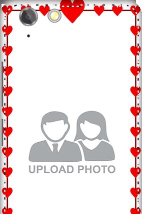 3D - Lenovo Vibe K5 Plus Heart Valentine's Day Mobile Cover