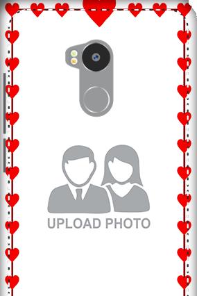 3D - Redmi 4 Prime Heart Valentine's Day Mobile Cover