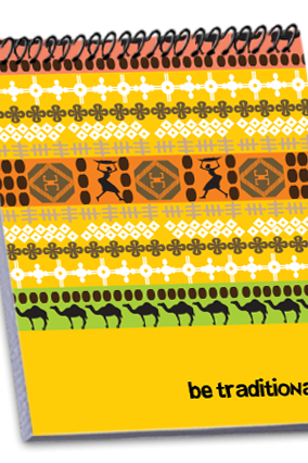 Ethnic Personalized Notebook