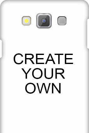 3D - Create Your Own Samsung Galaxy A7 Mobile Cover