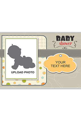 Baby Shower Canvas Printing