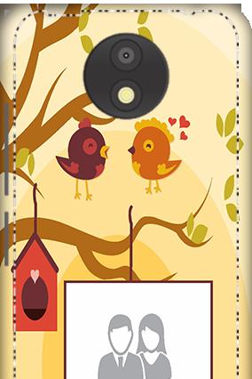 3D - Motorola Moto C Plus Birds Mobile Cover