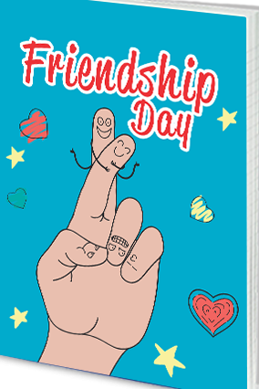Effit Cool Friendship Day Notebook