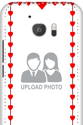 3D - HTC M10 Heart Valentine's Day Mobile Cover