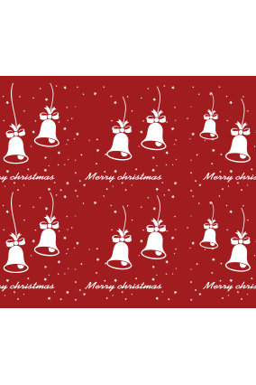 Bells of Joy Xmas Wrapping Paper