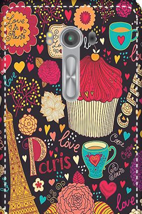 3D - Asus Zenfone 2 Laser ZE550KL Paris Valentine's Day Mobile Cover