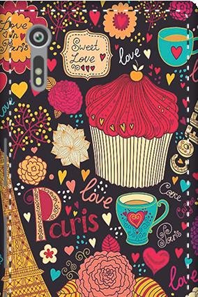 3D - Sony Xperia XZ Paris Valentine's Day Mobile Cover