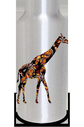 Giraffe 400ml Silver Sipper