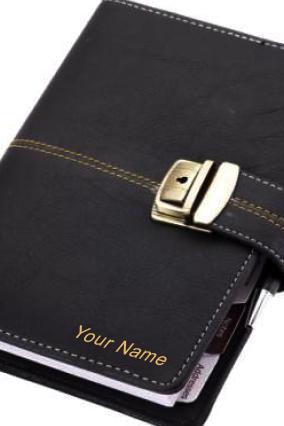 Business Organiser Leatherite BL Lock GE-A1070