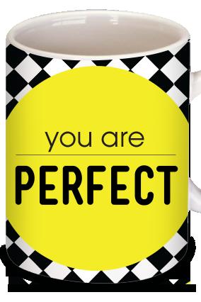 Perfectionism Personalized  Mug
