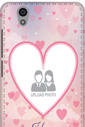 3D - Gionee F103 Love & Heart Anniversary Mobile Cover