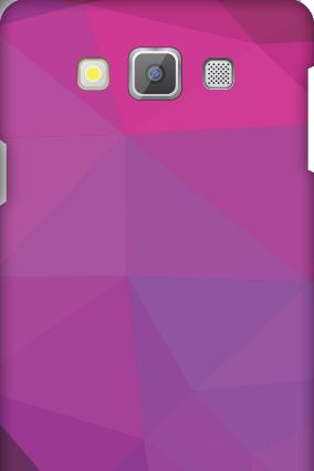 Samsung Galaxy A7 Purple Mobile Cover