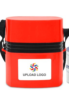 Promotional Upload Logo Megalunch H34 Red