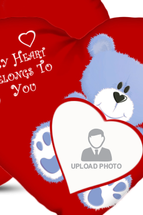 Upload PhotoTeddy Bear Cushion Cover